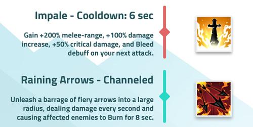 Ember Sword - スキルの例