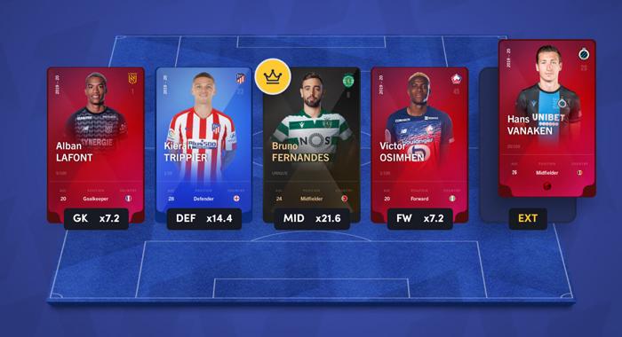 5枚のカードでチームを作成 - SORAREの始め方と遊び方